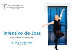 Intensivo de Jazz Meike Schönhütte