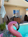 Swimming pool and terrace area...