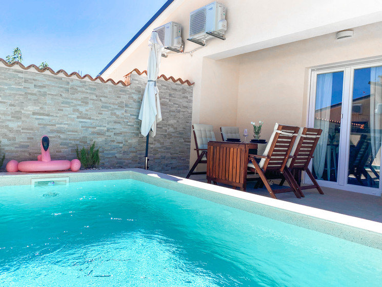 Swimming pool area...