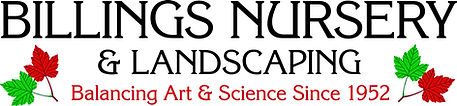 Billings Nursery & Landscaping logo no t