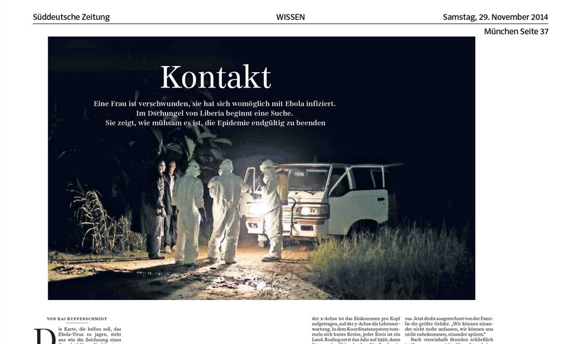 Süddeutsche Zeitung (29/11/14)