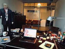Dan's secret office..
