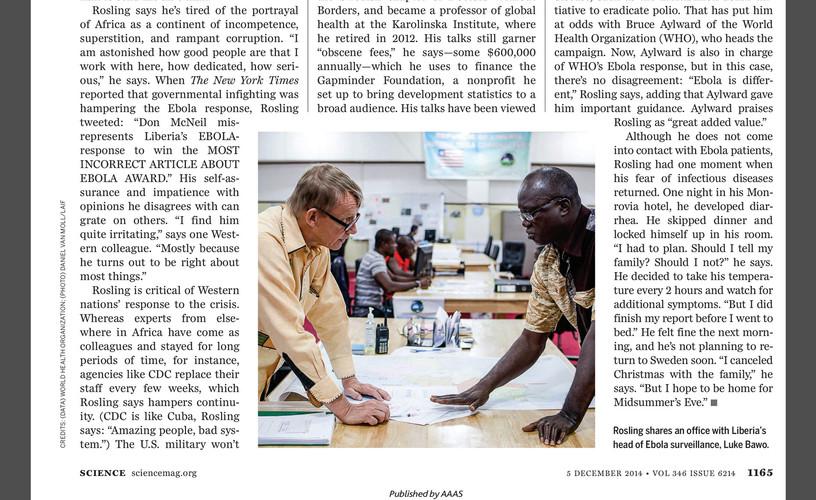 Science Magazine (05/12/14)