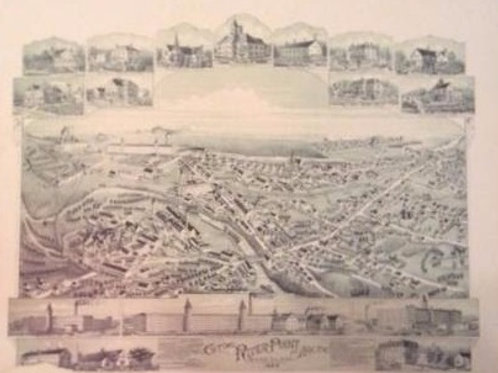 LITHOGRAPHS OF THE PAWTUXET VALLEY 1889