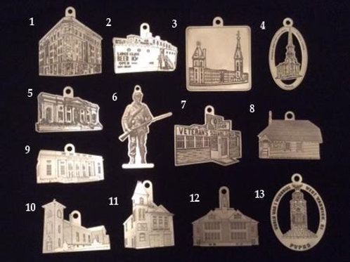 Commemorative Pewter Ornaments of the Pawtuxet Valley