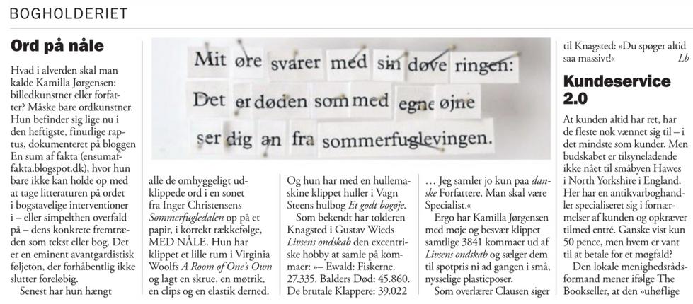 Weekendavisen, Lars Bukdahl, 13.1.2017