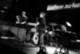 Antoine Cellier et Louis Grosclaude (Schaffhauser Jazz Festival 2013)