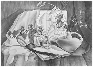 Рисунок, 40х60, Елизавета Егорова