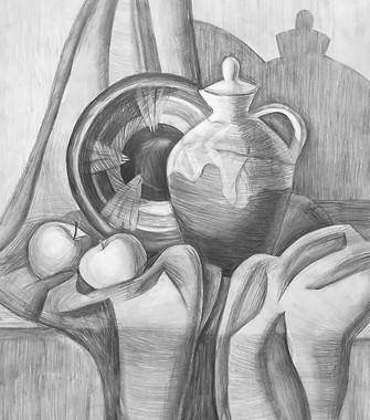 Рисунок, 42х37, София Хазанова