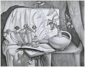 Рисунок, 43х54, Анна-Мария Онищук