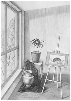 Рисунок, 40х30, Маргарита Тройникова
