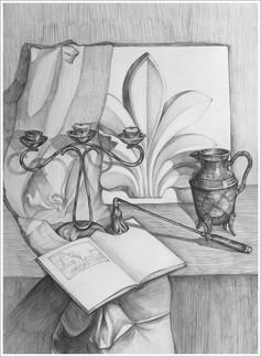 Рисунок, 55х40, Маргарита Оуэн