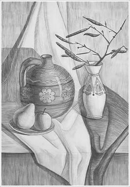 Рисунок, 40х30, Анастасия Сталенная