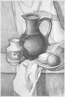 Рисунок, 60х40, Маргарита Оуэн