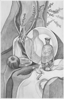 Рисунок, 60х40, Маргарита Тройникова