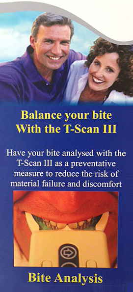 T-Scan III: for a well balanced bite