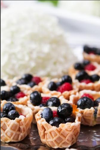 tshcatering, fruit tarts