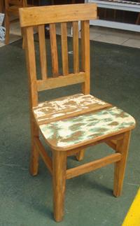 Cadeira Estação Descascada