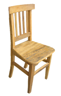 Cadeira Estação Rústica