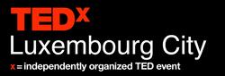 TEDxLuxembourg City logo black