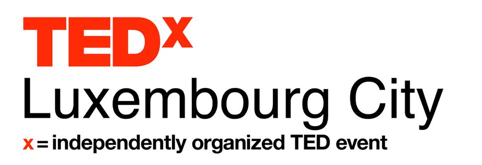 TEDxLuxembourg City logo white