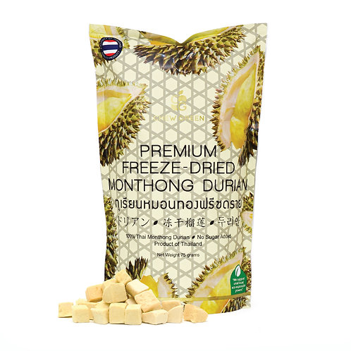 Premium Freeze-Dried Monthong Durian 75g