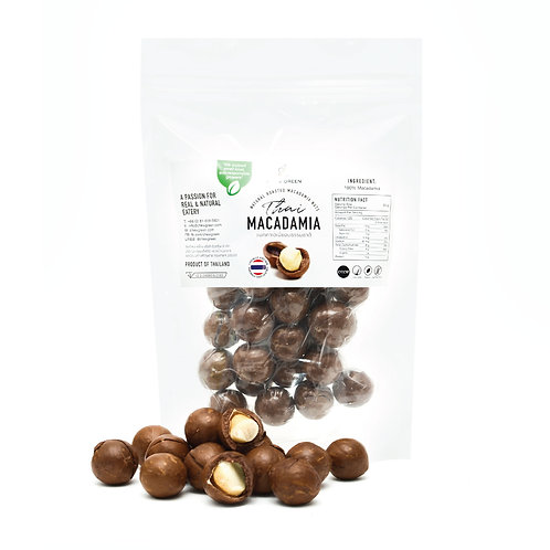 Natural Roasted In-Shell Macadamia Nuts 500g
