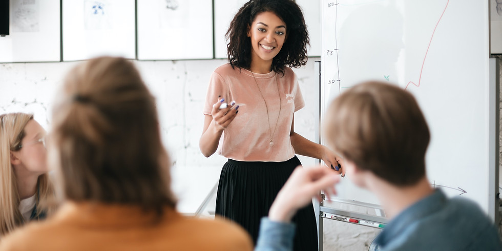 Becoming a Confident Speaker (In person or Online)