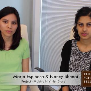 Maria Espinosa and Nancy Shenoi