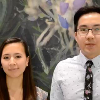 Kimberly Nguyen and Michael Apolinario