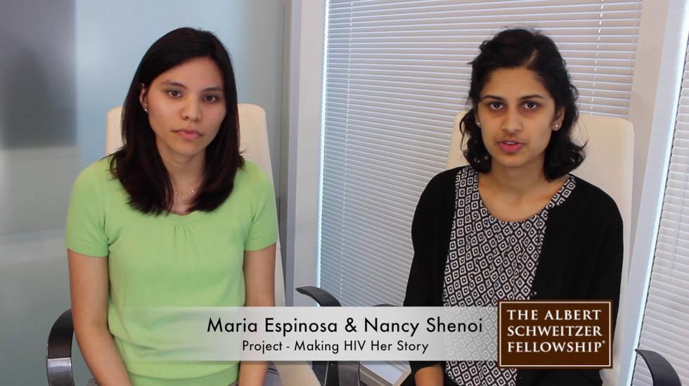 Maria Espinosa & Nancy Shenoi