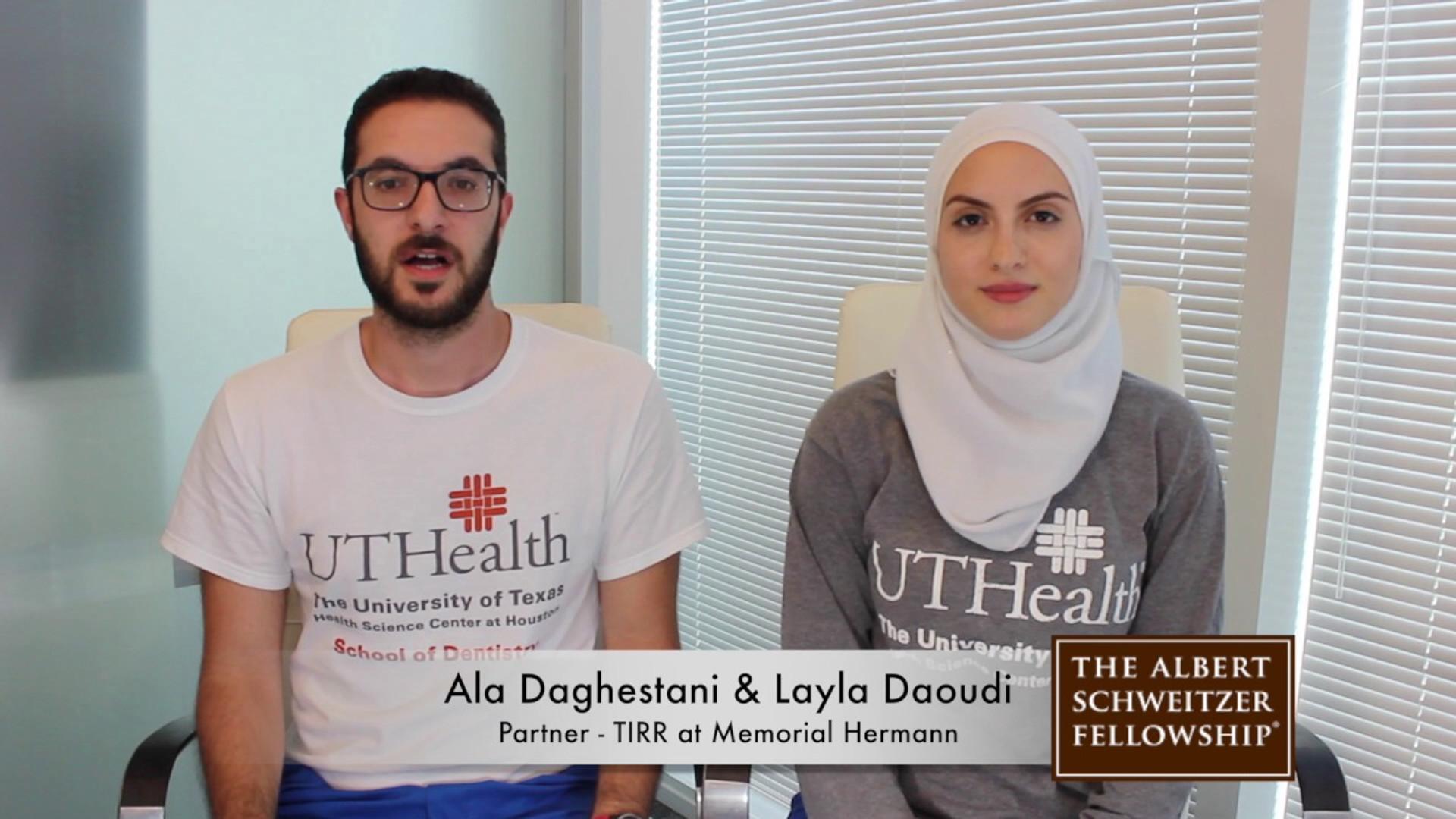 Ala Daghestani & Layla Daoudi