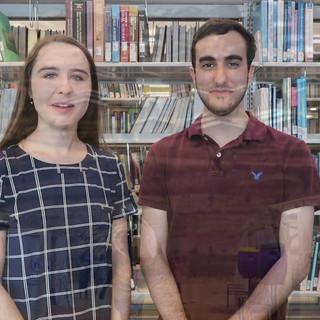 Lejla Zoronjic and Eyad Albaba