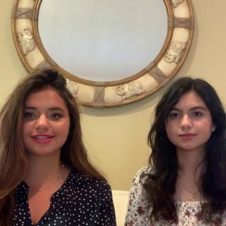 Dina Zamil and May Al Ameri