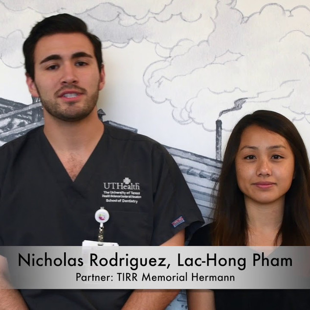 Nicholas Rodriguez and Lac-Hong Pham