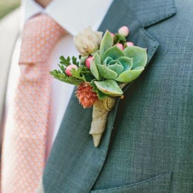 boutoniere-succulente