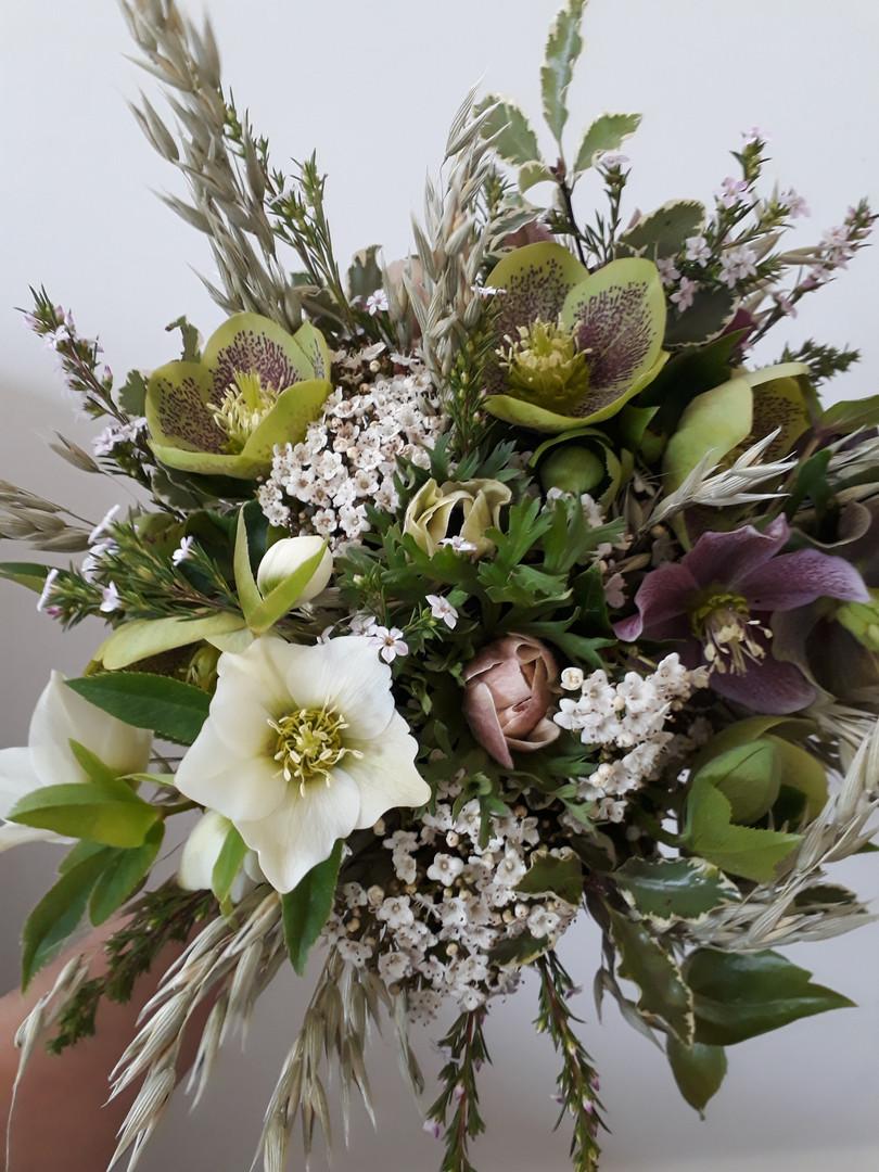 bouquetde marièe hiver