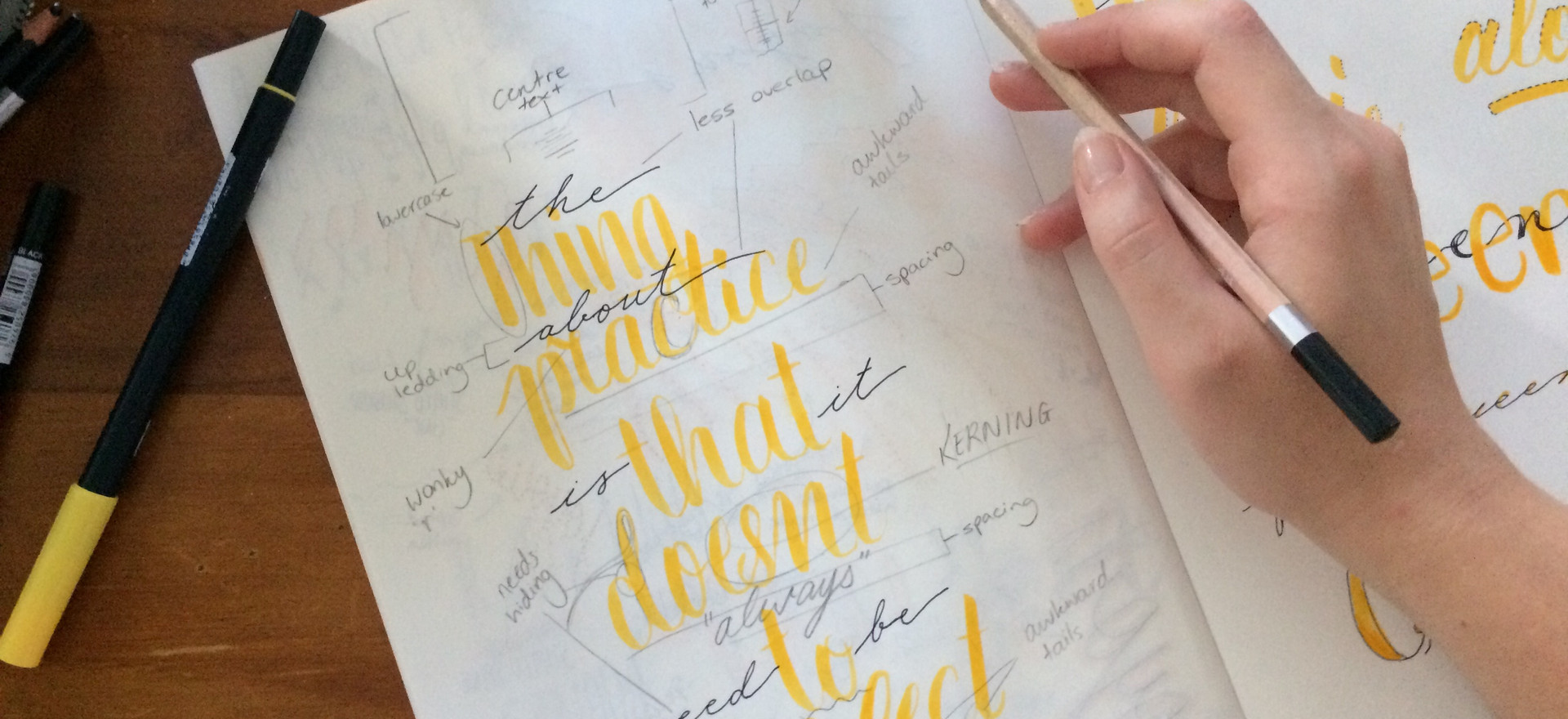 Katie Wittle Designs - Hand Lettering