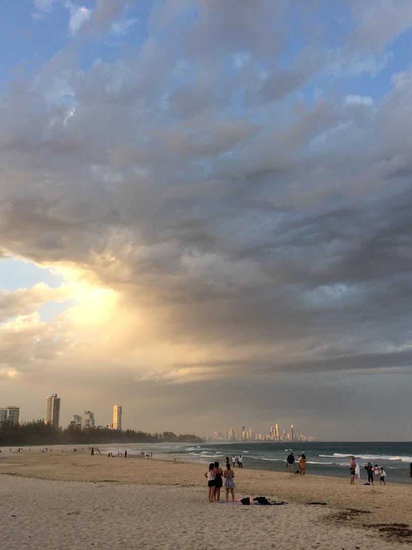 Gold Coast Beach Afternoon