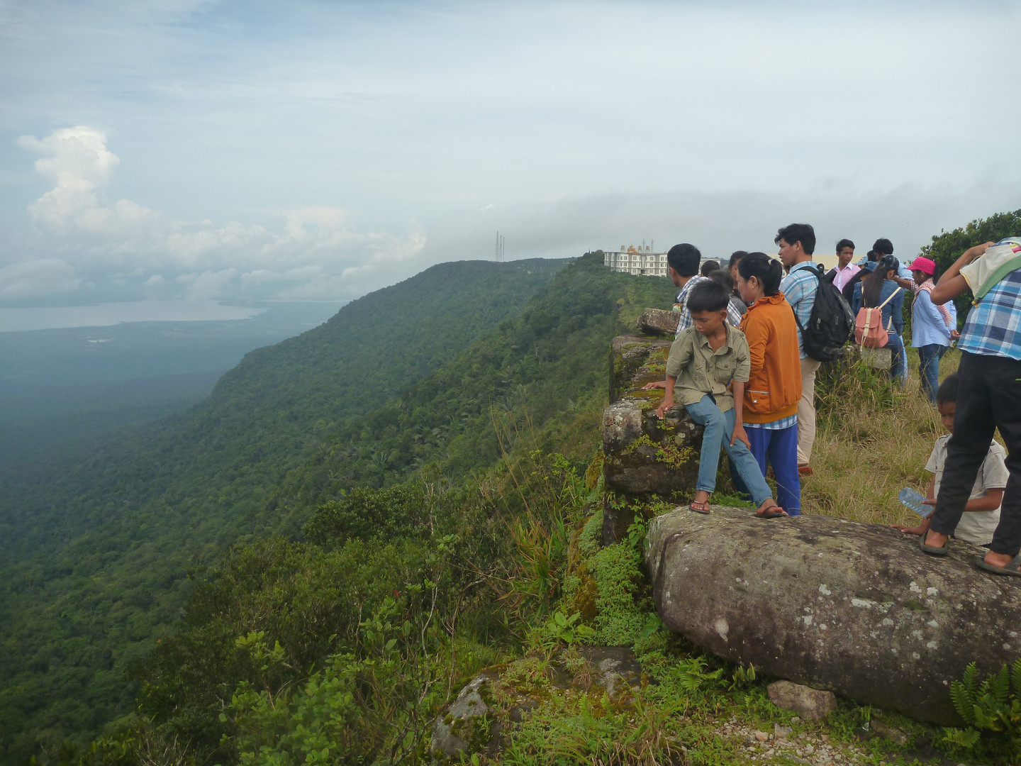 Cambodia lookout