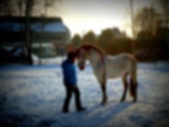 Hispano in de sneeuw