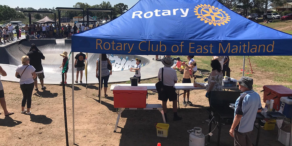 Service project review with Maitland Rotary