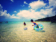 beach picnic,ビーチピクニック、沖縄海遊び