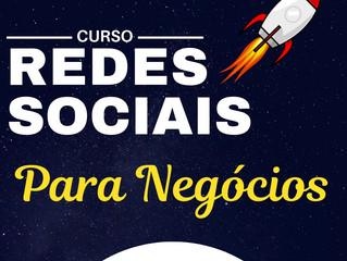 CURSO DE REDES SOCIAIS POR 69,90