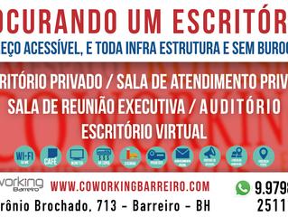 COMPARATIVO COWORKING BARREIRO X ESCRITÓRIO COMUM! GARANTIMOS A REDUÇÃO DE 50% DO SEU CUSTO FIXO!