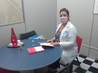 A nossa querida cliente @psicopedagogakelicrisiele já está prontinha para receber sua aluna, com tod