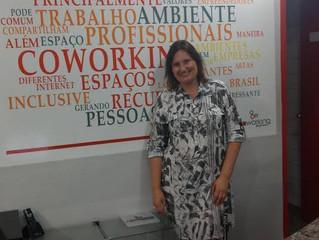 Nossa querida cliente Jussimara, da Empresa Dom Consultoria DOM Consultoria, veio hoje para alegrar