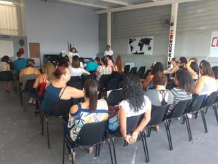 Reunião da Escola Municipal do Barreiro acontece agora no Coworking! Que prazer receber vocês...