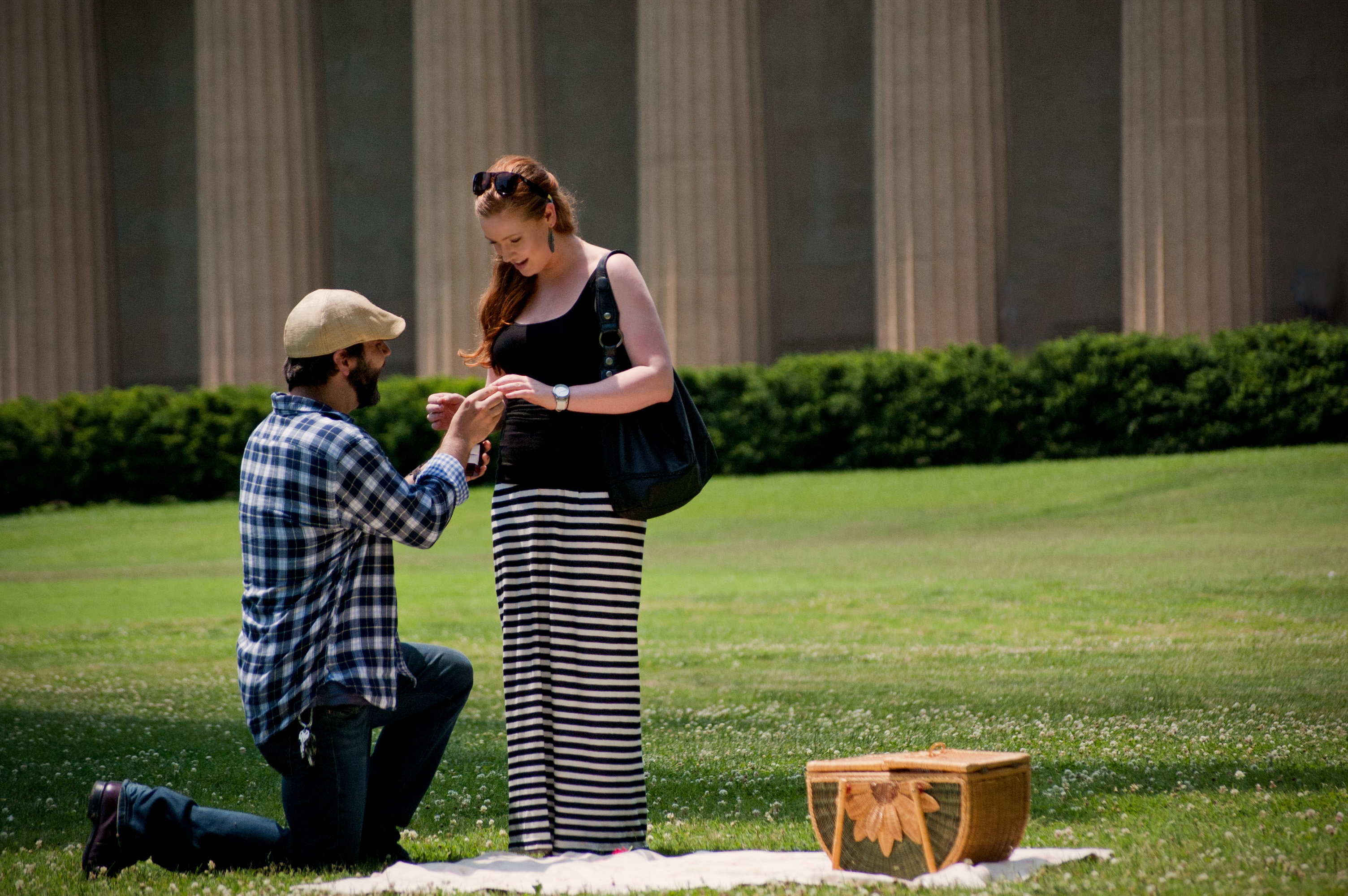 Chris and Leah proposal