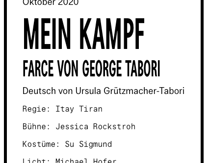 ITAY TIRAN | Mein Kampf
